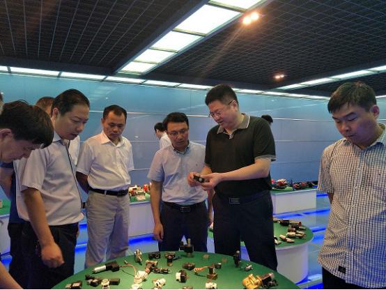 山东济宁汶上县参观考察团来访交流